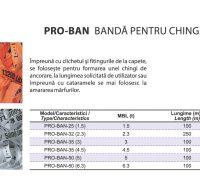 PRO-BAN Banda pentru Chinga Ancorare