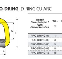 PRO-DRING D-Ring cu Arc