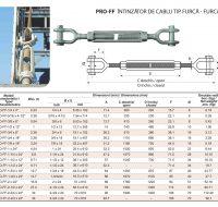 PRO-FF Intinzator de Cablu Tip Furca-Furca