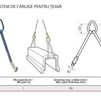 PRO-HHC-1W Sistem de Carlige pentru Teava