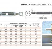 PRO-OC Intinzator de Cablu Tip Ochi-Carlig
