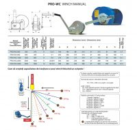 PRO-WC Winch Manual